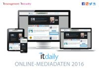 it daily Mediadaten 2016