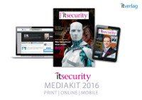 it security Media Kit 2016