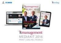 it management Media Kit 2016