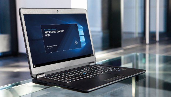 Laptop  Quelle Rohde  Schwarz Cybersecurity 700