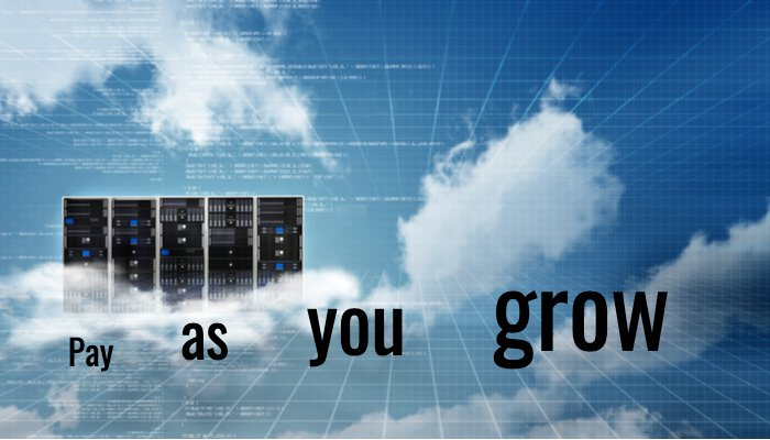 Server und Cloud, Pay as you grow