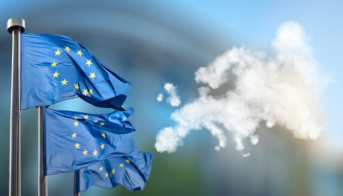 EU Flags Cloud