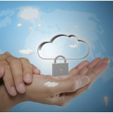 Cloud Security Hand