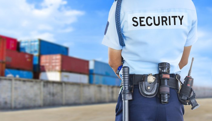 Container, Security-Guard
