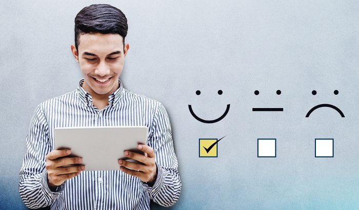 Customer Experience Smileys