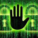 Cyber Defense Hand 407786176 160