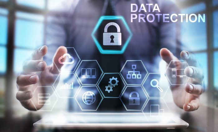 Data Protection Businessman