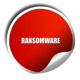 Ransomware Sticker