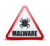 Malware Warnschild