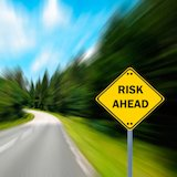 Risk Ahead Schild