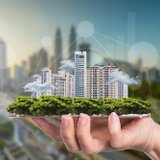Smart City Smartphone Shutterstock 656335006 160