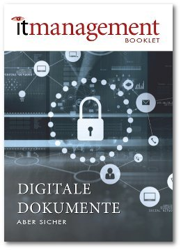Booklet Digitale Dokumente Titelseite