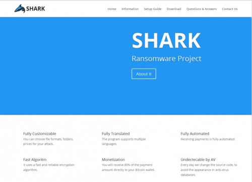 Das Shark Ransomware Project