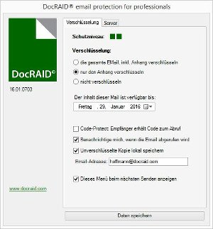 DocRAID E-Mail Protection