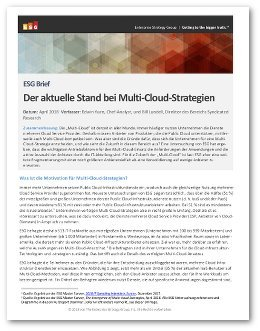 Whitepaper Mulit-Cloud-Strategie