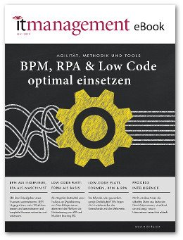 eBook BPM, RPA & Low Code optimal einsetzen