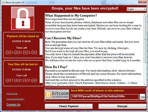 WannaCry Analysis